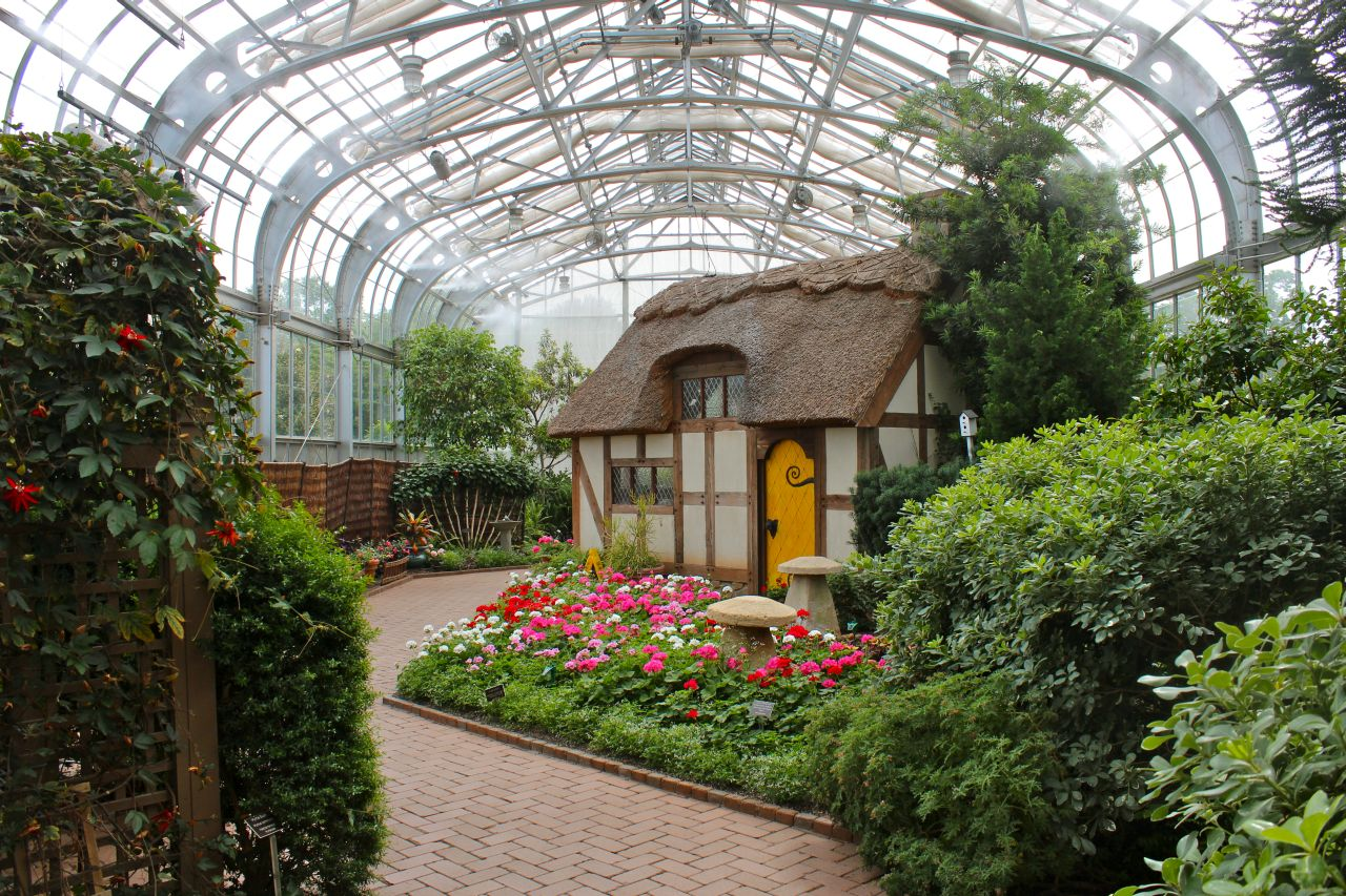 Lewis Ginter Botanical Garden Wedding Garden Ftempo