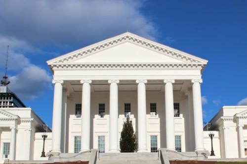 Virginia State Capitol Architecture Richmond