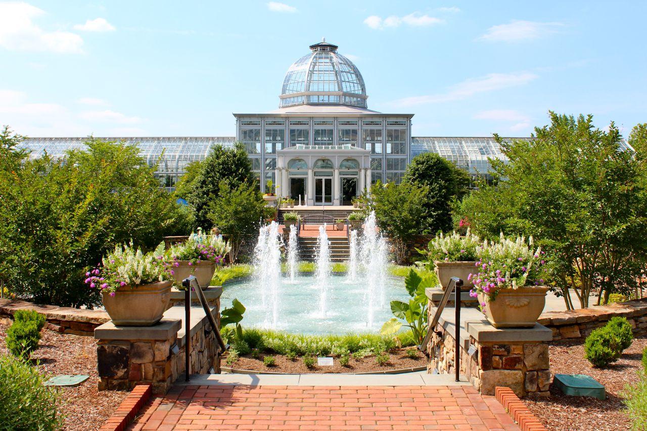 Botanical Garden Plan Architecture